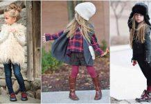 Детская мода осень-зима 2019-2020 фото