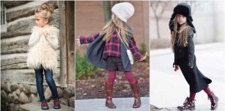 Детская мода осень-зима 2020-2021 фото идеи