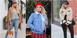 Модная верхняя одежда для полных женщин осень-зима 2019-2020 фото идеи