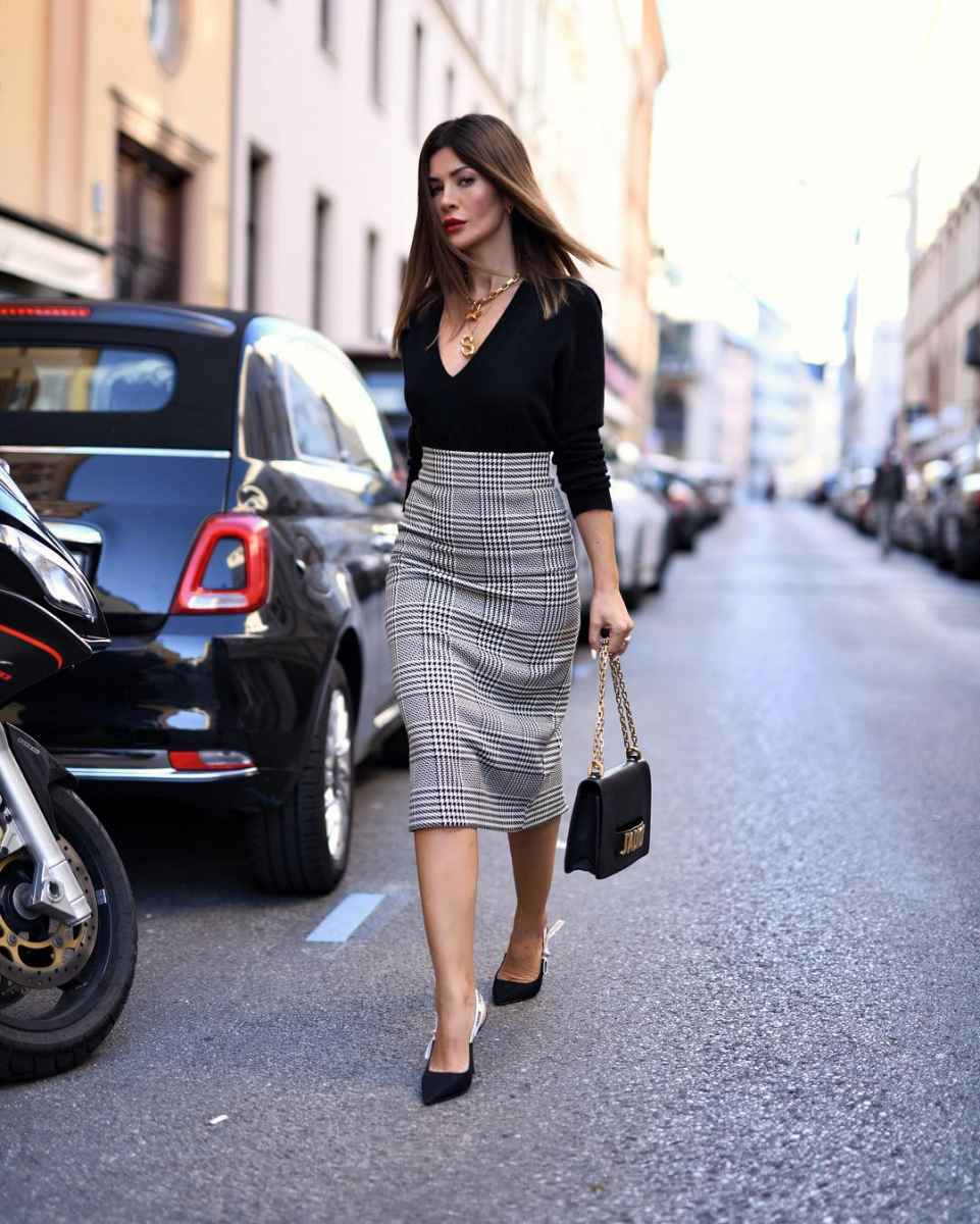 Модные луки для собеседования на работу женщине фото_105