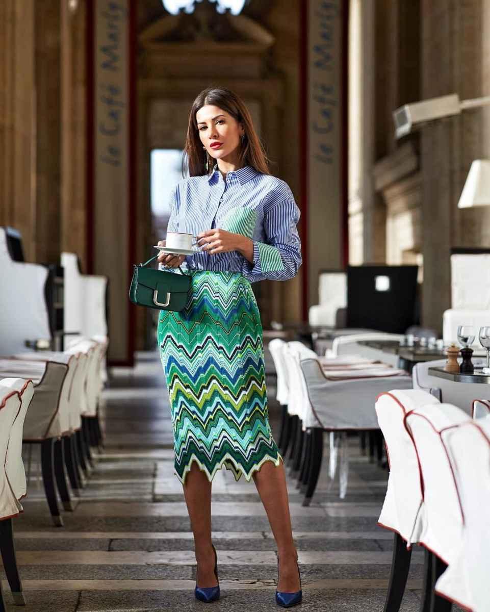 Модные луки для собеседования на работу женщине фото_41
