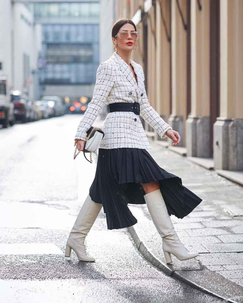 Модные луки для собеседования на работу женщине фото_39