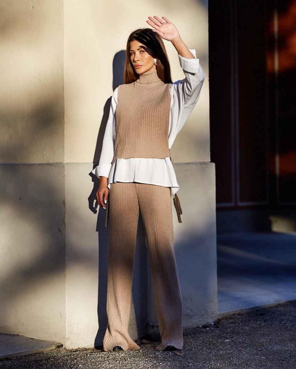 Модные луки для собеседования на работу женщине фото_36