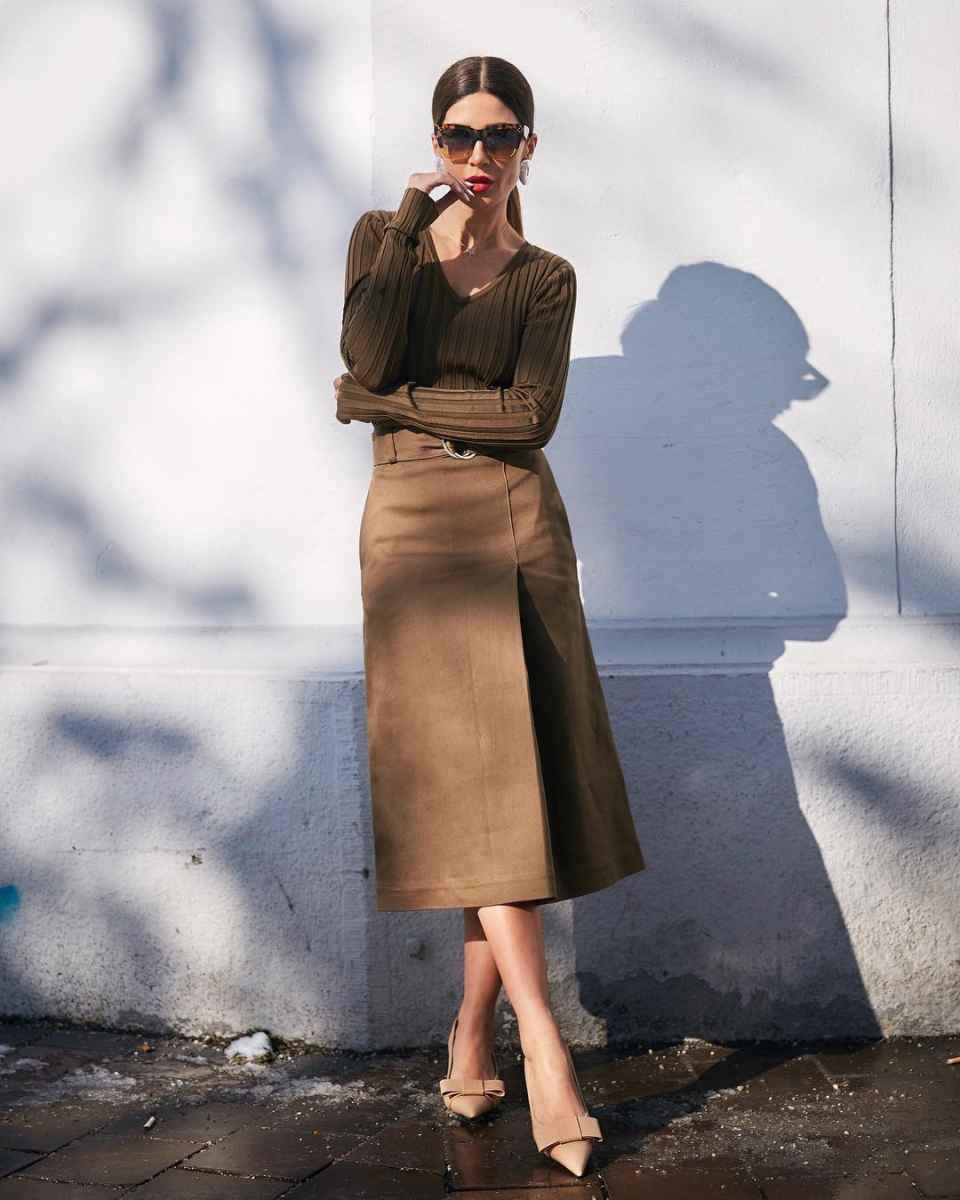 Модные луки для собеседования на работу женщине фото_34