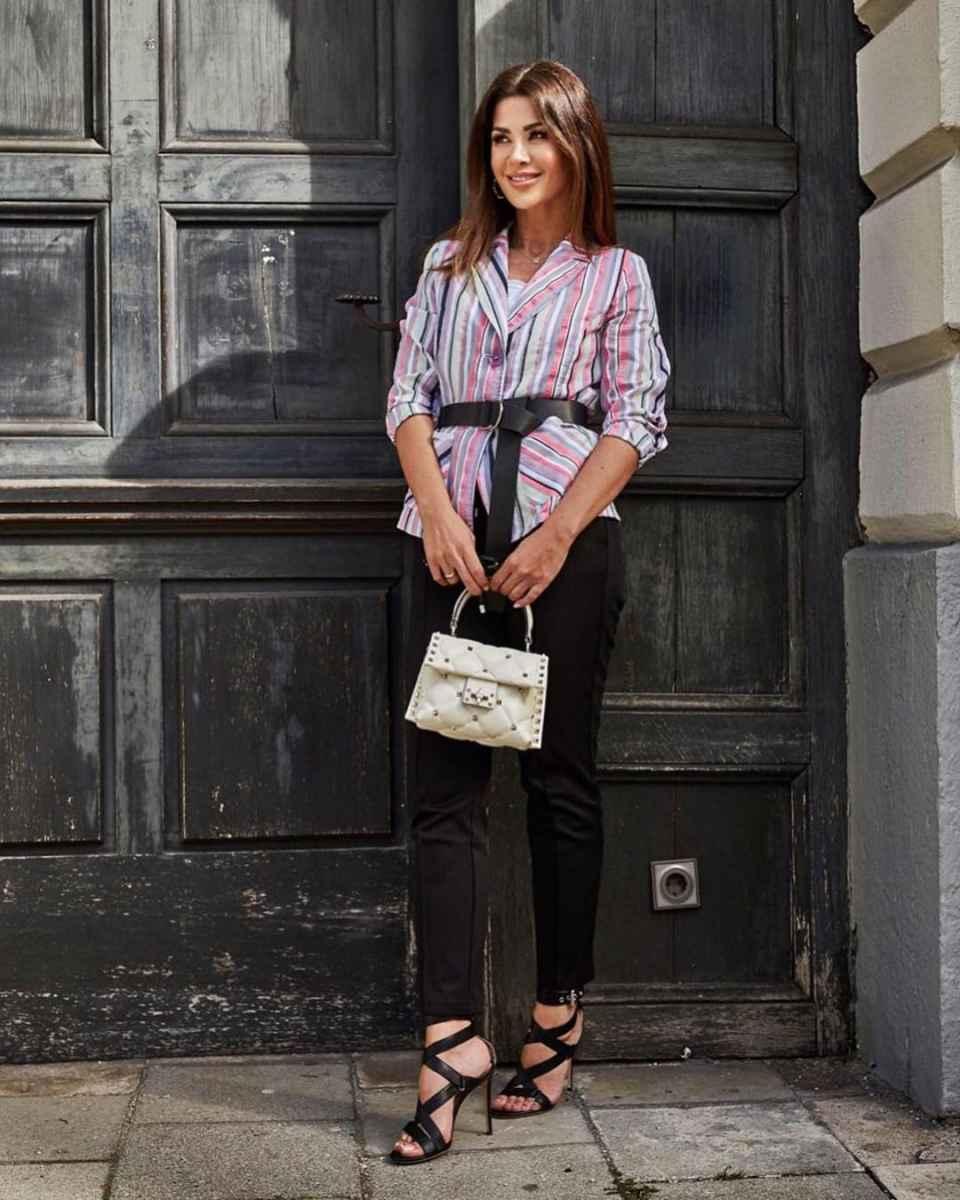 Модные луки для собеседования на работу женщине фото_24