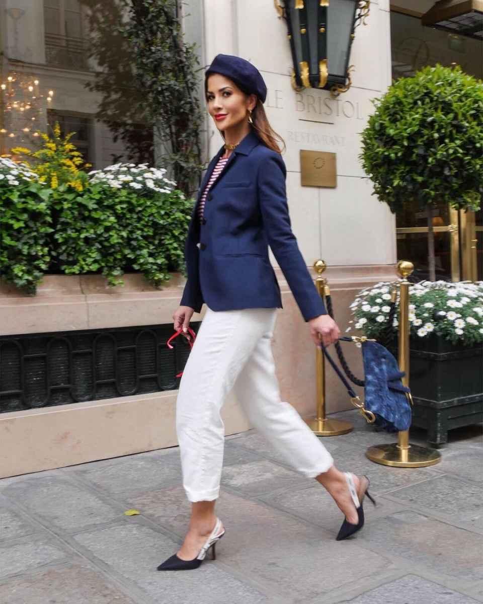 Модные луки для собеседования на работу женщине фото_23