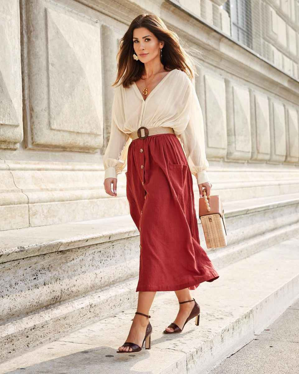 Модные луки для собеседования на работу женщине фото_20