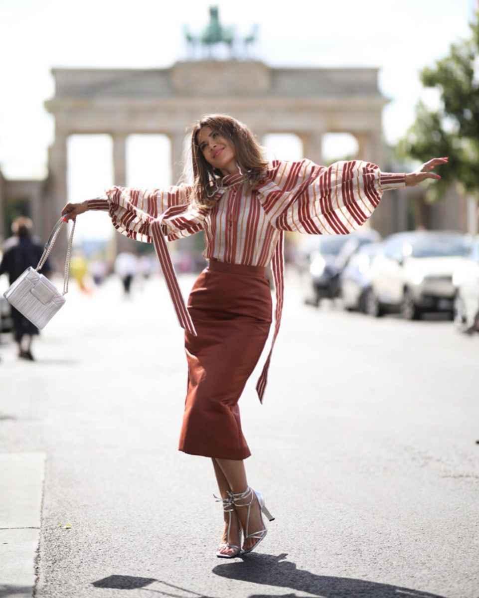 Модные луки для собеседования на работу женщине фото_12