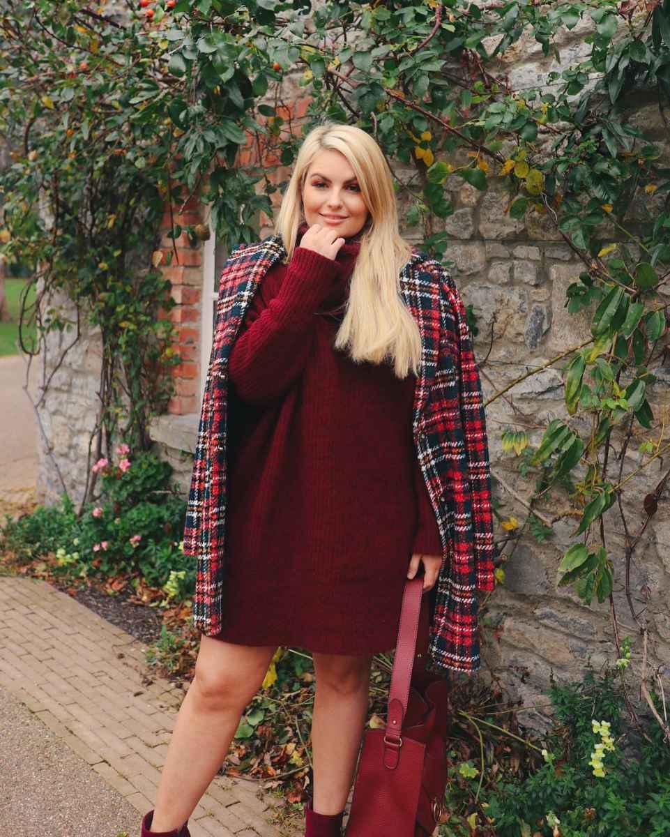 Модная верхняя одежда для полных женщин осень-зима 2019-2020 фото_17