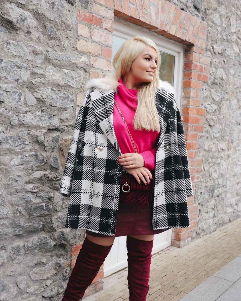 Модная верхняя одежда для полных женщин осень-зима 2019-2020 фото_16