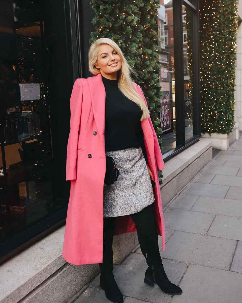 Модная верхняя одежда для полных женщин осень-зима 2019-2020 фото_13