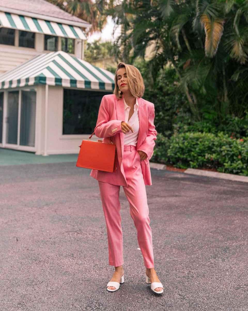Модные луки для собеседования на работу женщине фото_168