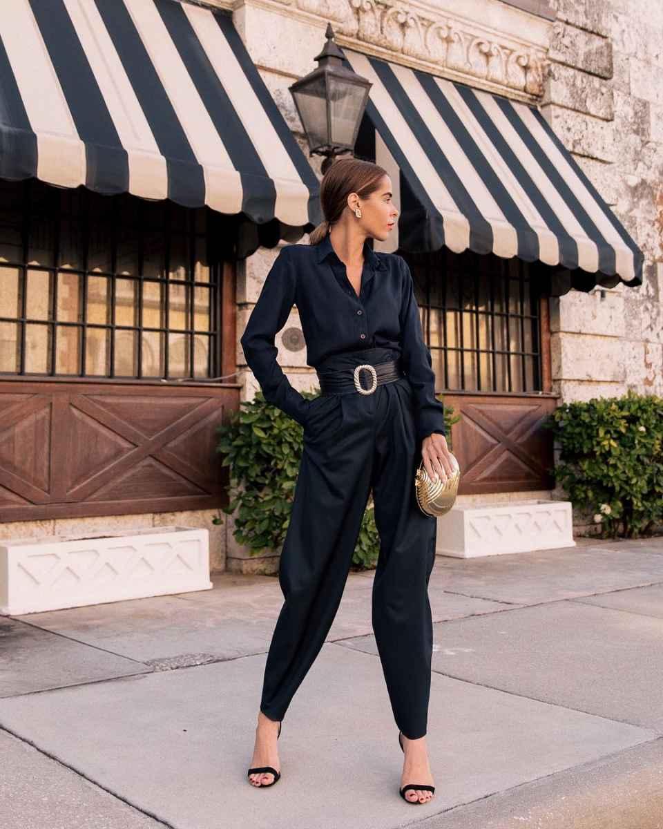 Модные луки для собеседования на работу женщине фото_157