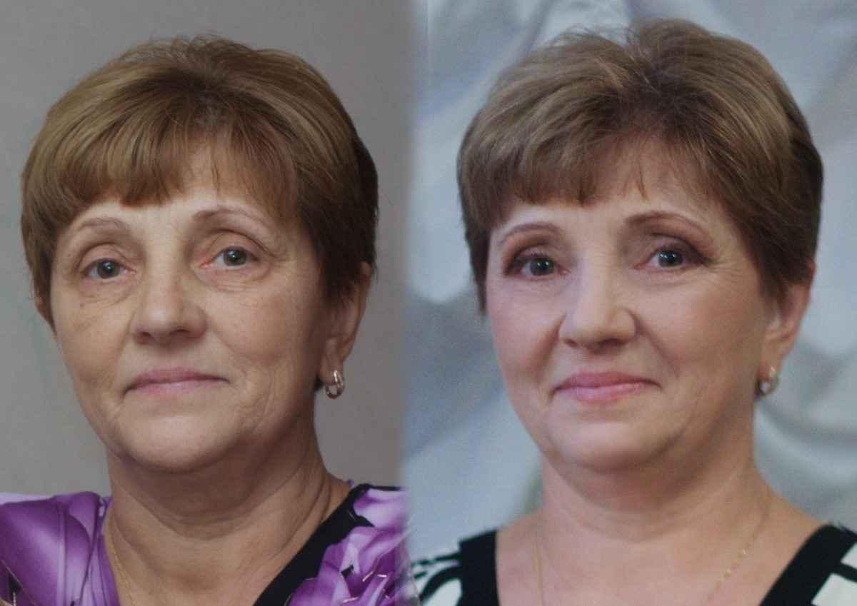 сделать глаза моложе с помощью макияжа