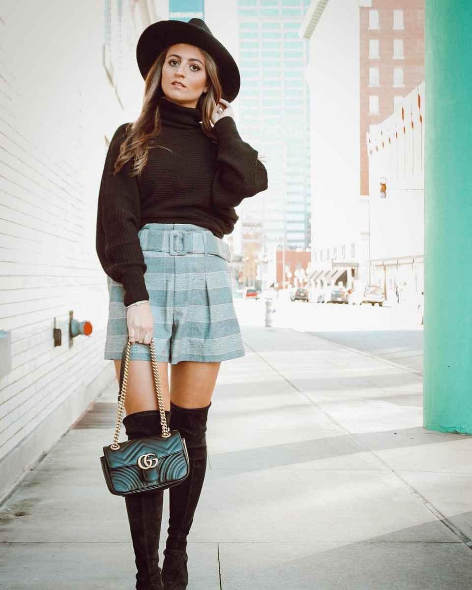 Мода для невысоких осень-зима 2019-2020 фото_112