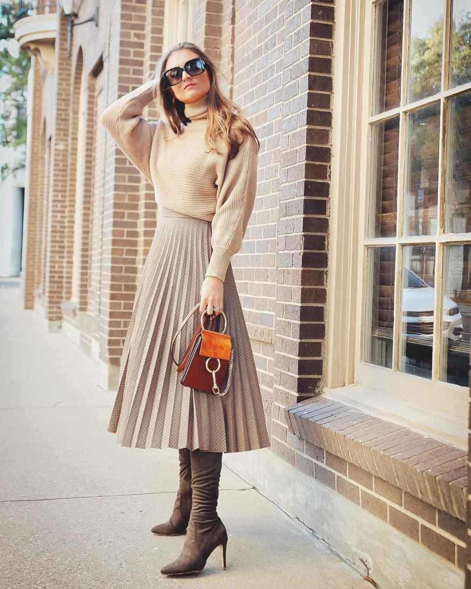 Мода для невысоких осень-зима 2019-2020 фото_111