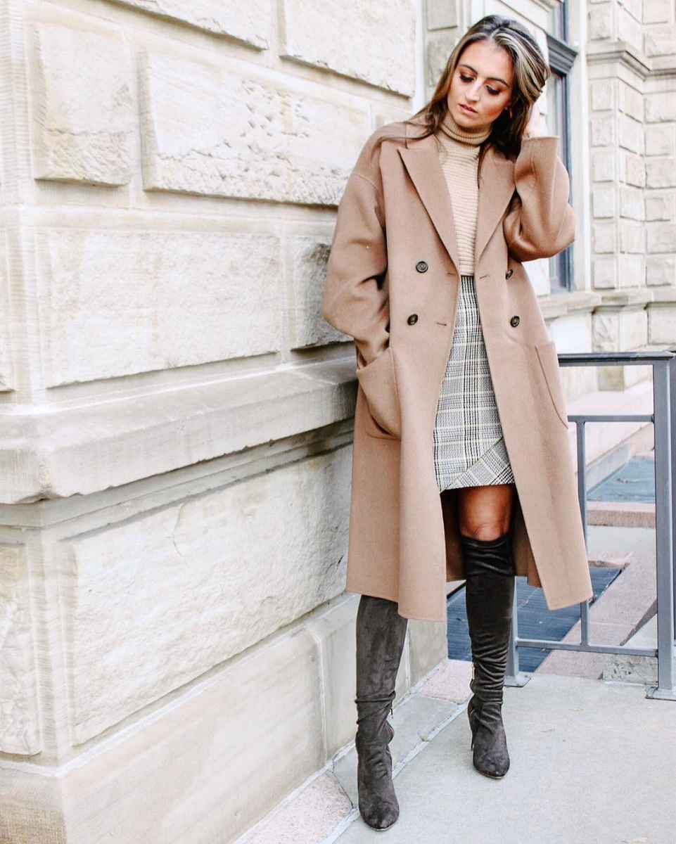 Мода для невысоких осень-зима 2019-2020 фото_107