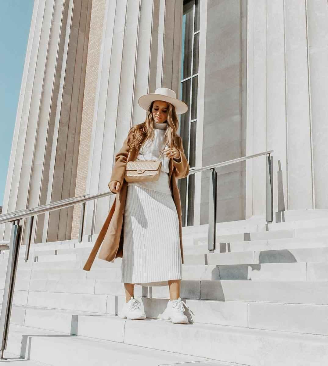Мода для невысоких осень-зима 2019-2020 фото_96