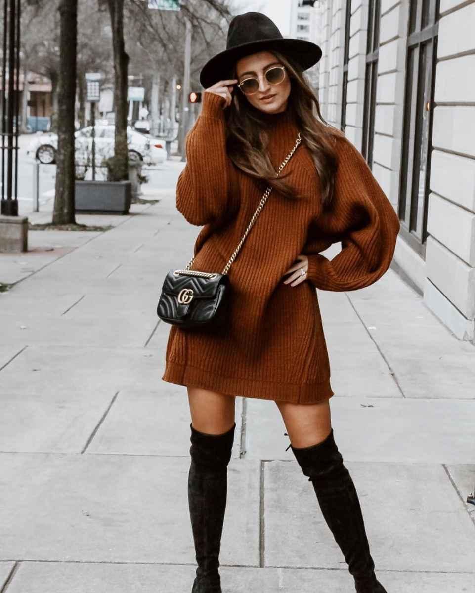 Мода для невысоких осень-зима 2019-2020 фото_95