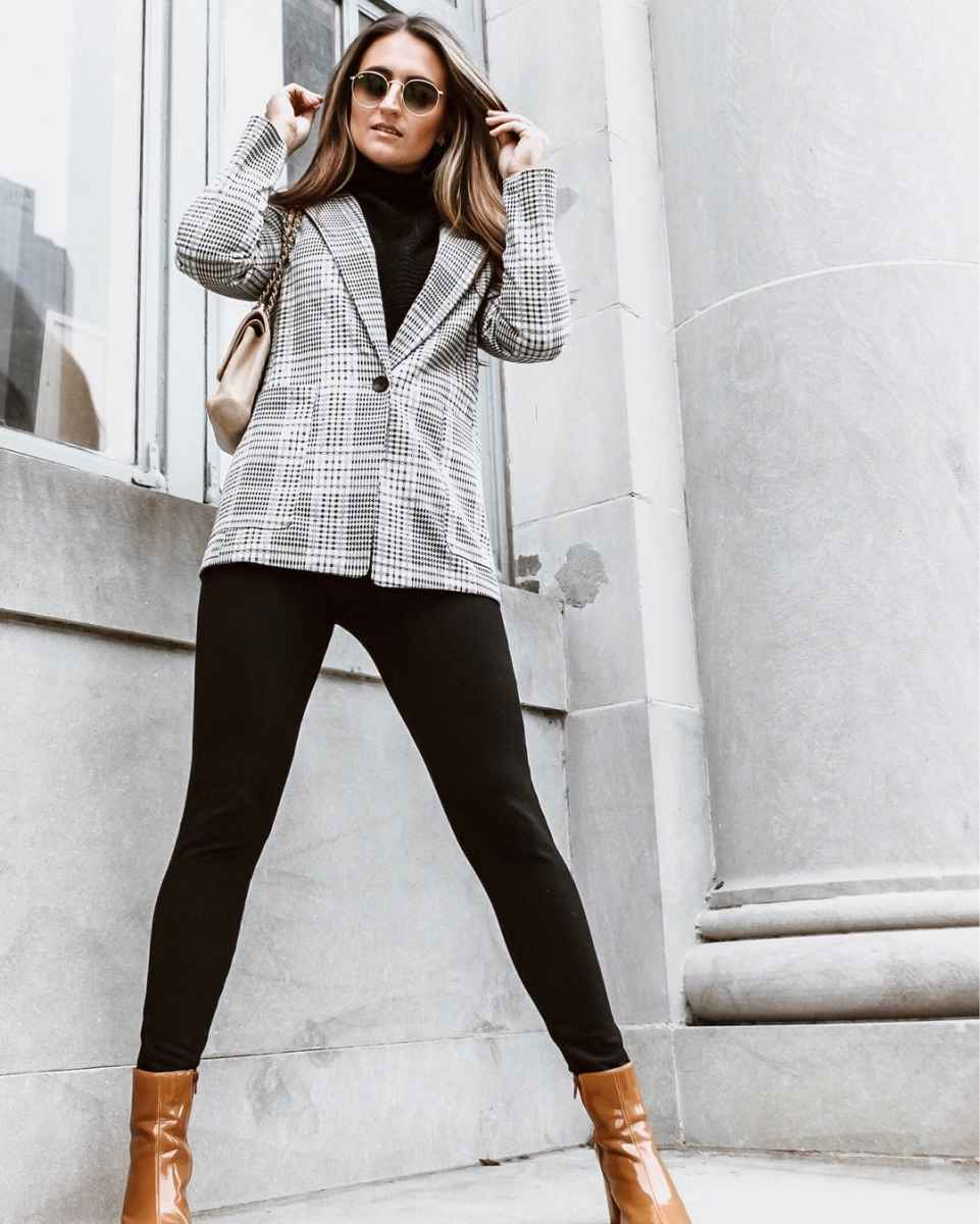 Мода для невысоких осень-зима 2019-2020 фото_89