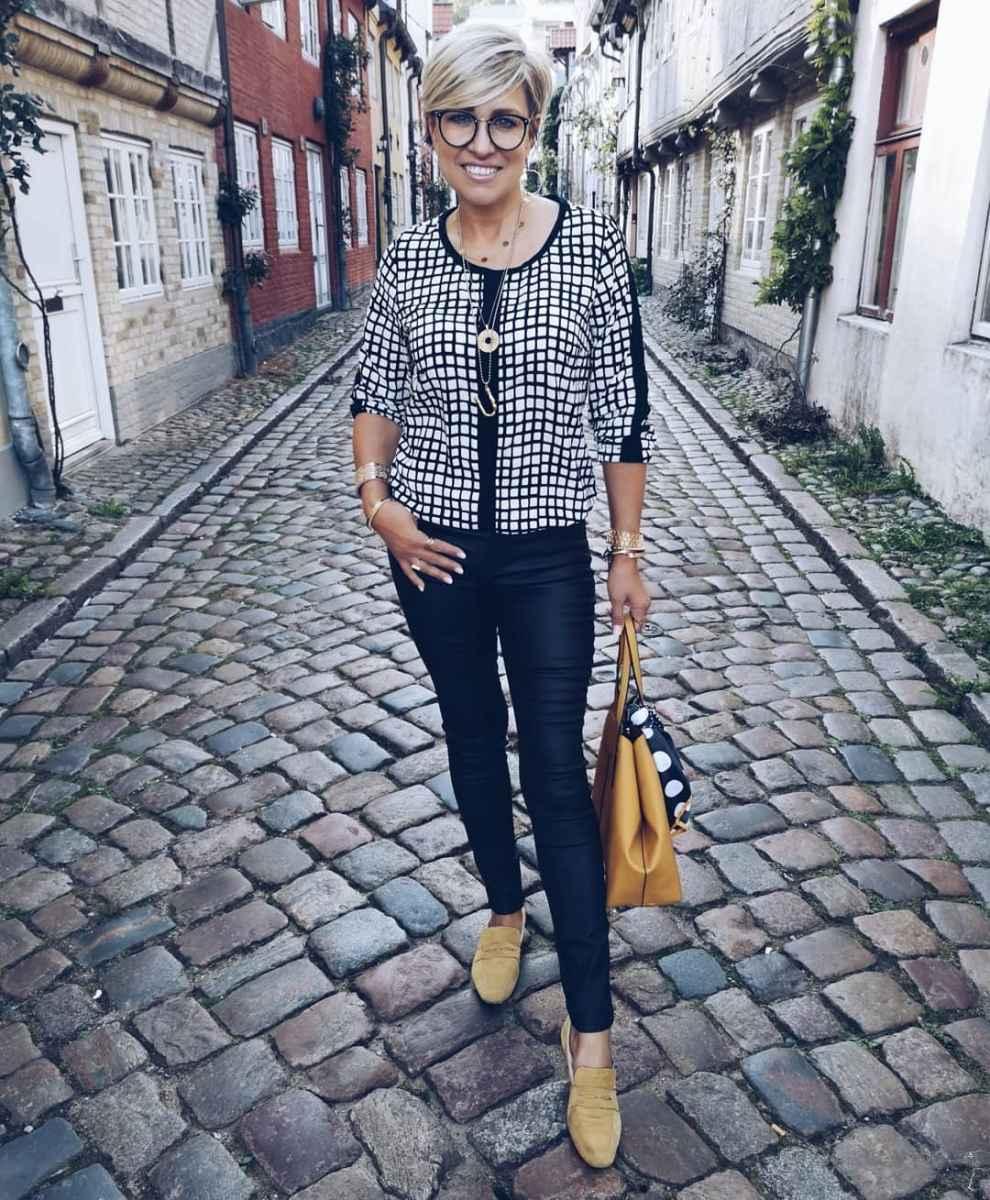 Луки для деловой женщины 40 лет фото_39