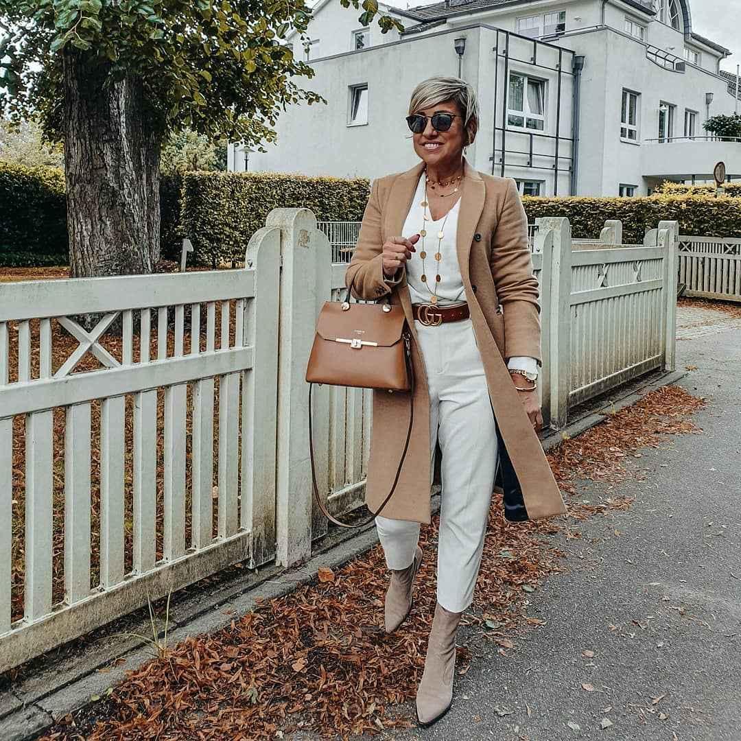 Луки для деловой женщины 40 лет фото_2