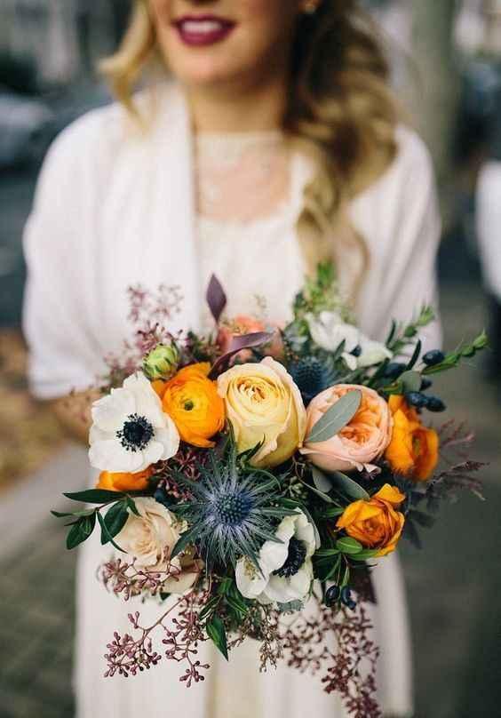 Красивый букет для невесты фото_7