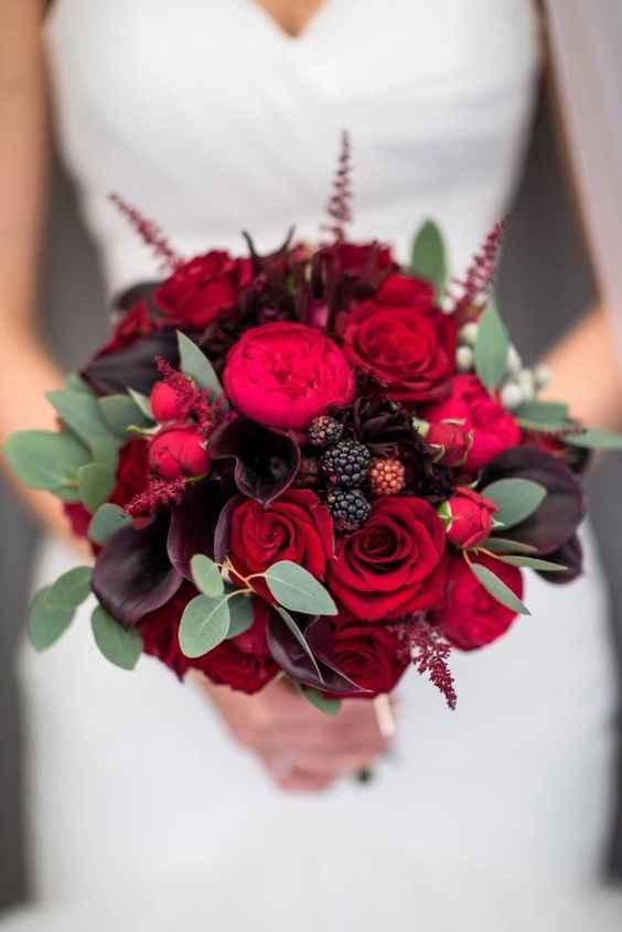Красивый букет для невесты фото_8