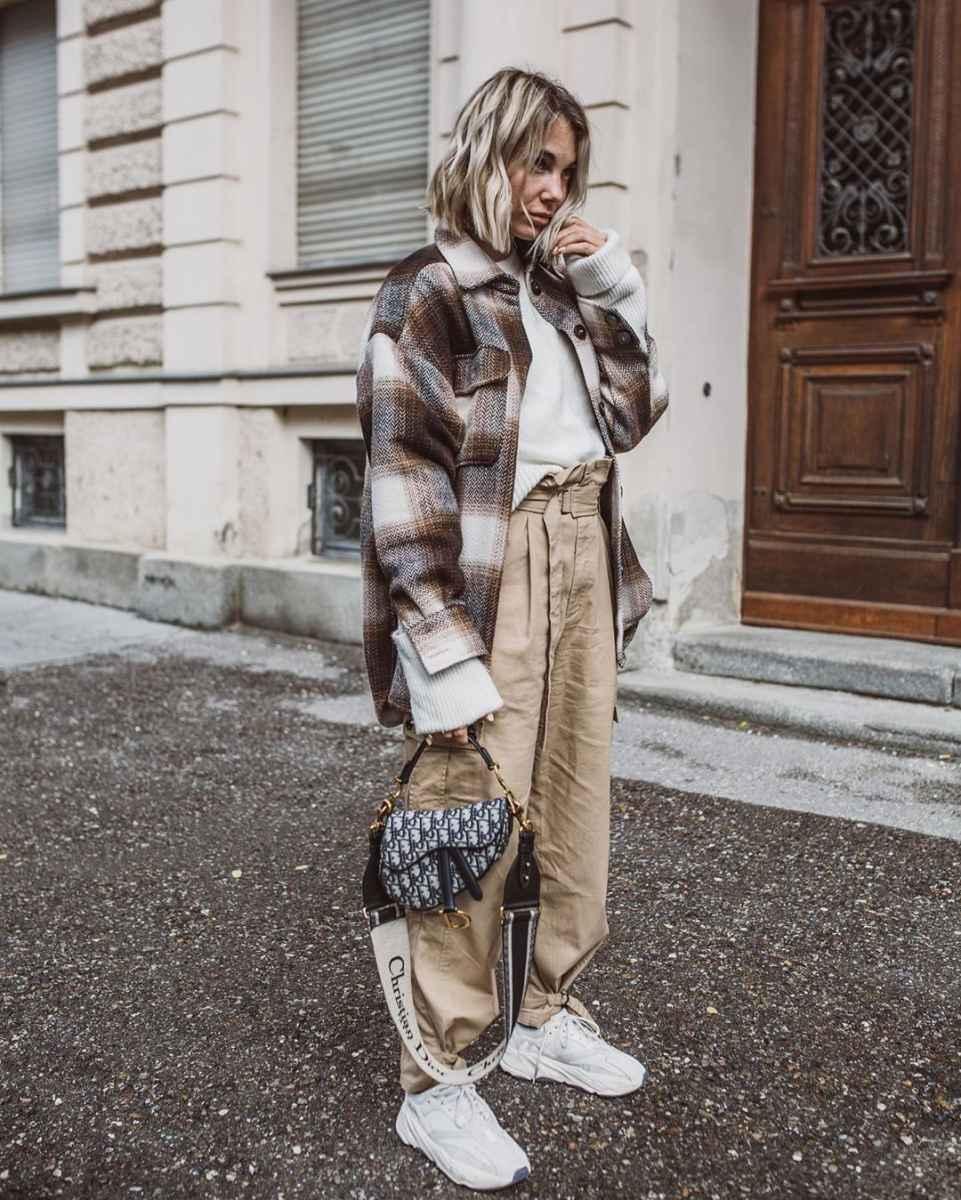С чем носить зимние женские кроссовки фото идеи_2