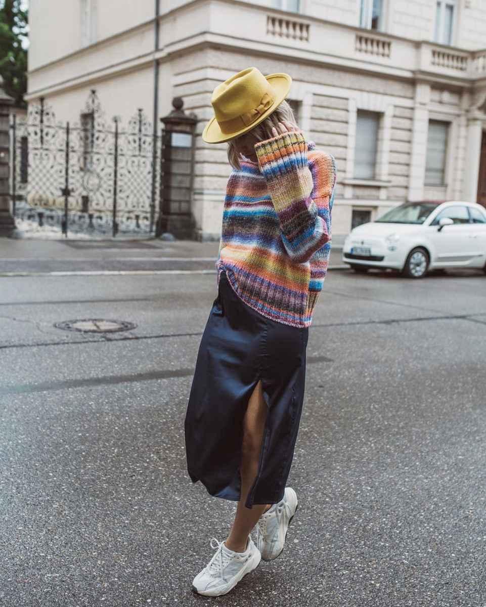 С чем носить зимние женские кроссовки фото идеи_1