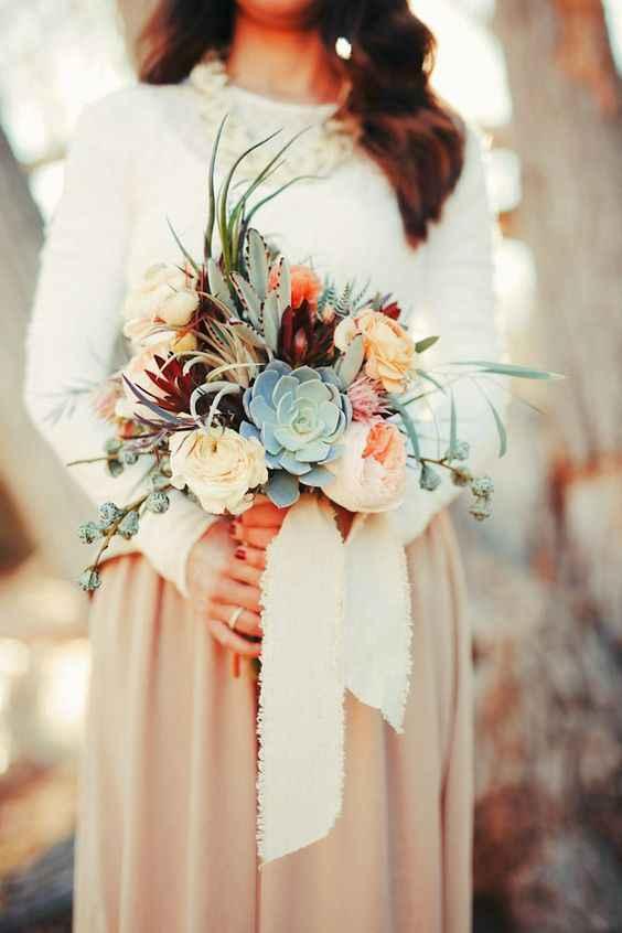 Красивый букет для невесты фото_2