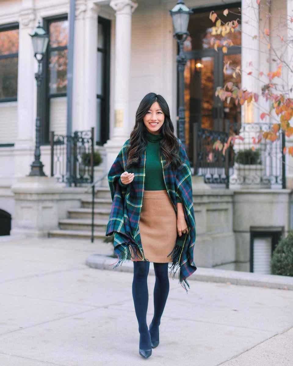 Мода для невысоких осень-зима 2019-2020 фото_в79