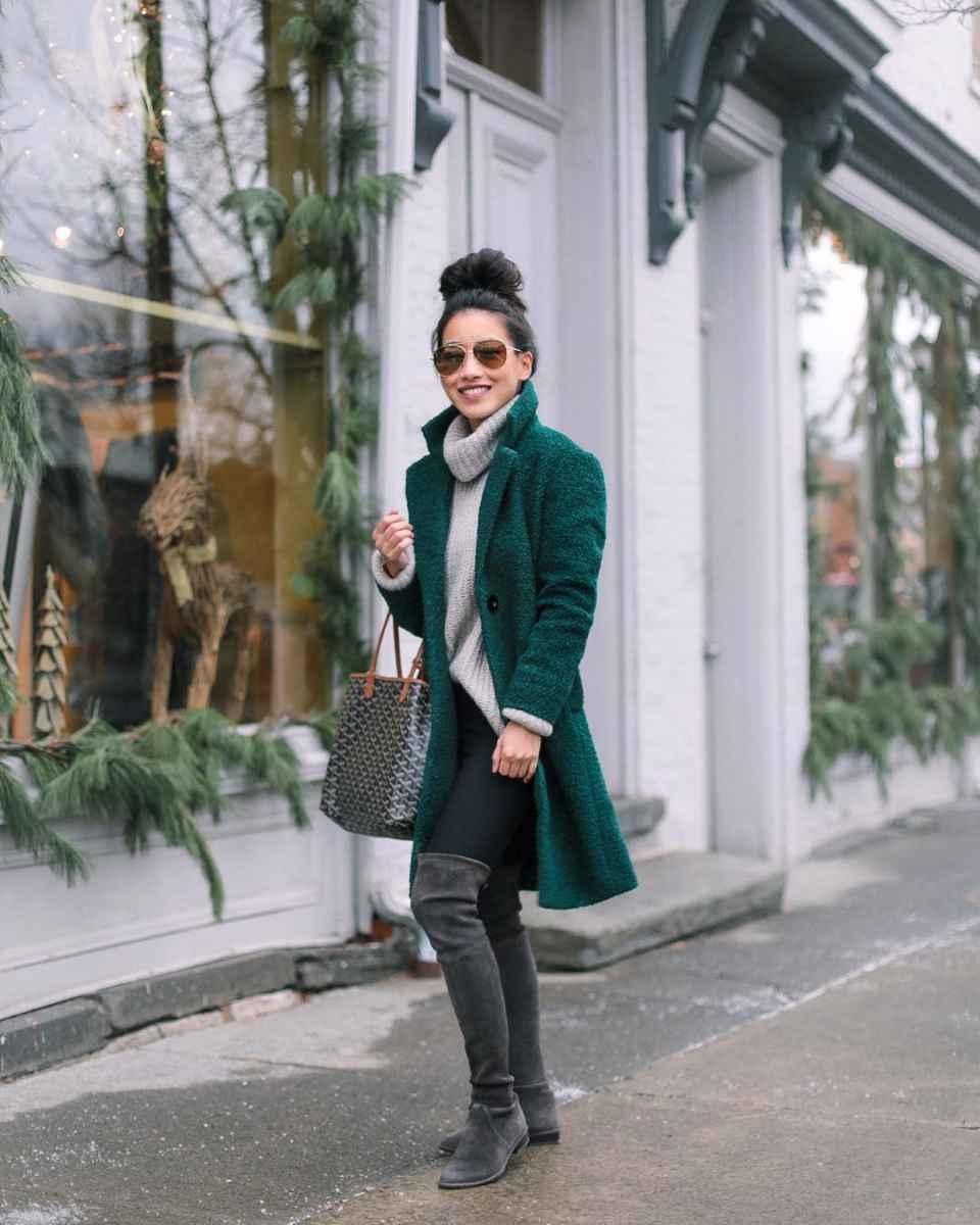Мода для невысоких осень-зима 2019-2020 фото_77