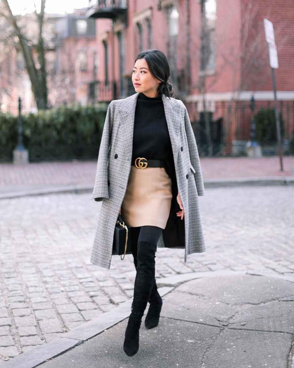 Мода для невысоких осень-зима 2019-2020 фото_74
