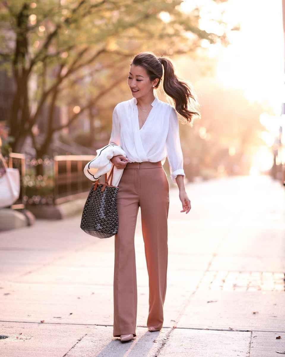 Мода для невысоких осень-зима 2019-2020 фото_69