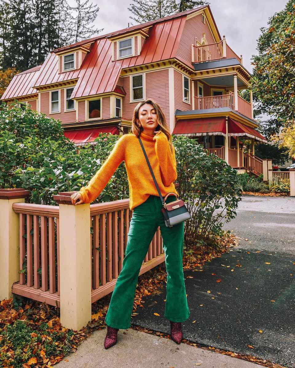 Мода для невысоких осень-зима 2019-2020 фото_16