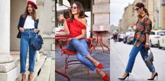 С чем носить джинсы женщинам после 40 фото