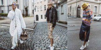 С чем носить зимние женские кроссовки фото идеи