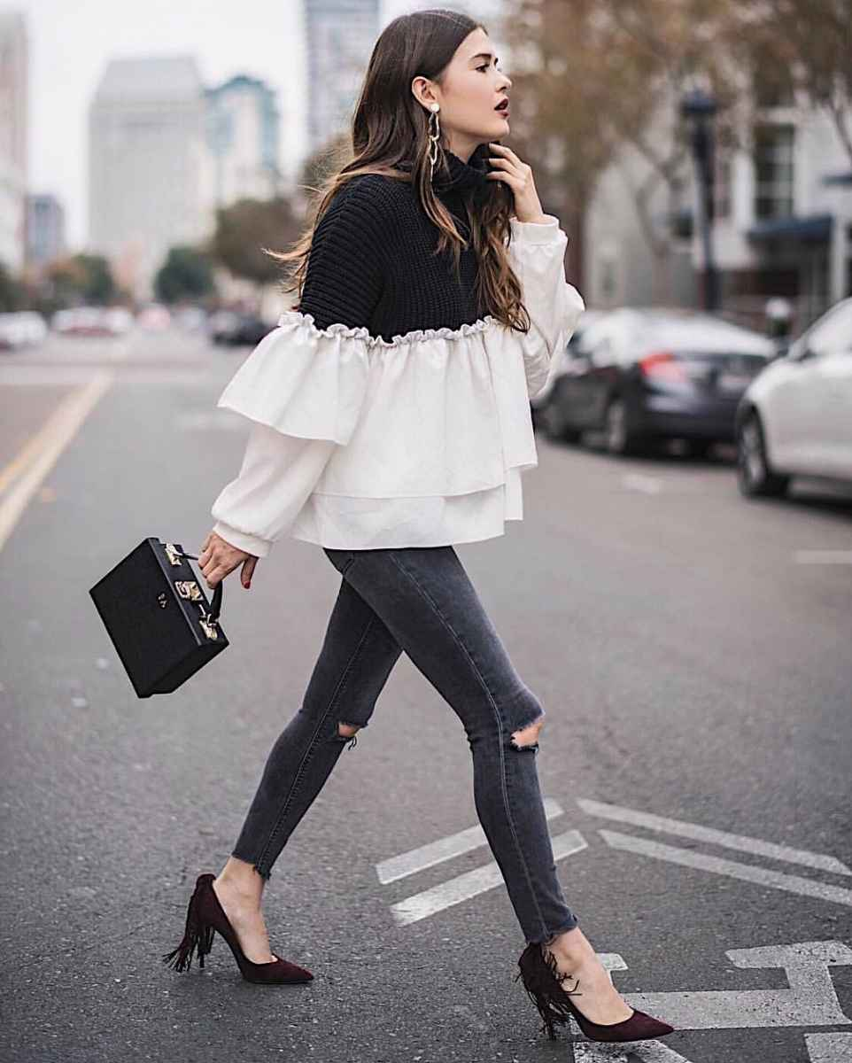 Мода для невысоких осень-зима 2019-2020 фото_49