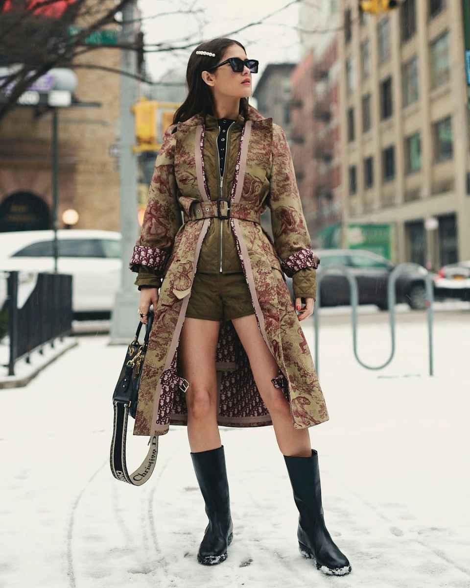 Мода для невысоких осень-зима 2019-2020 фото_40