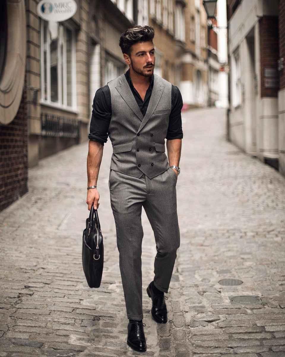 Как одеться на свадьбу мужчине гостю фото_79