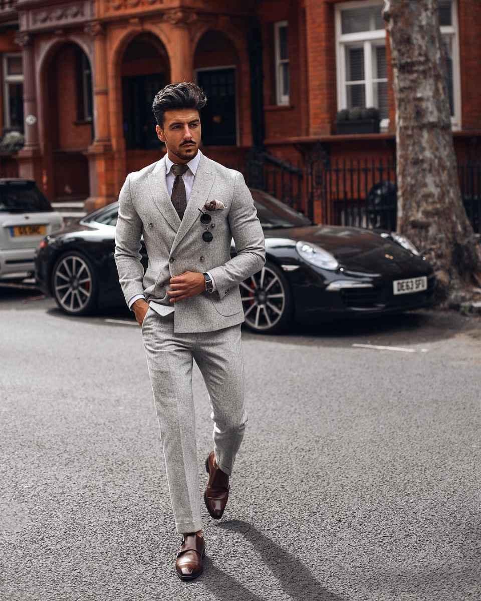 Как одеться на свадьбу мужчине гостю фото_78