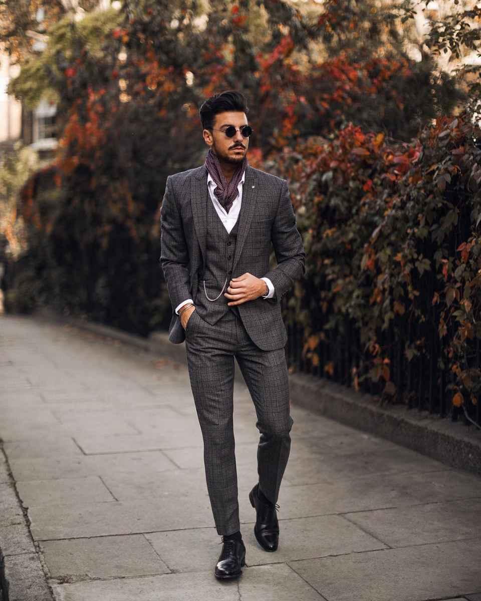 Как одеться на свадьбу мужчине гостю фото_77