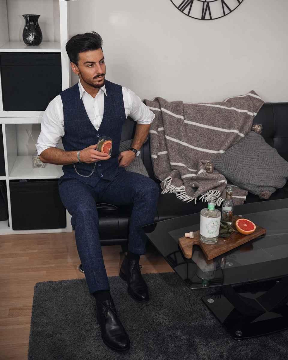Как одеться на свадьбу мужчине гостю фото_69