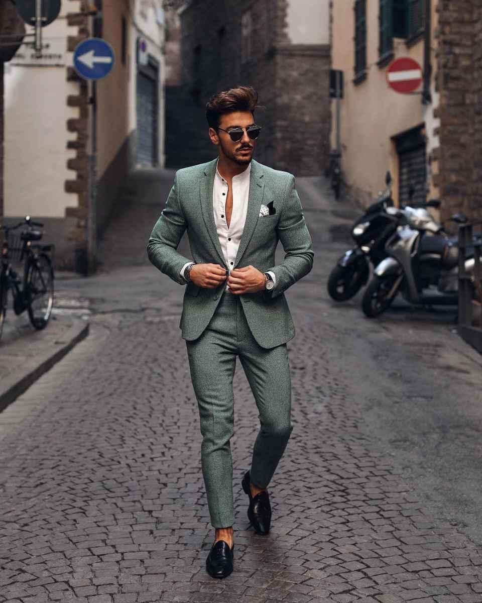 Как одеться на свадьбу мужчине гостю фото_56