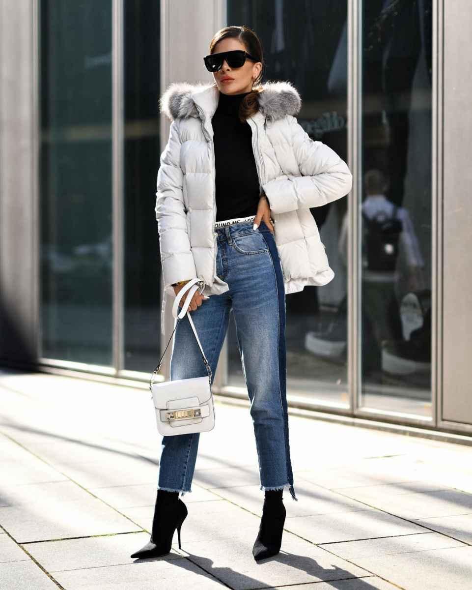 С чем носить джинсы женщинам после 40 фото_32