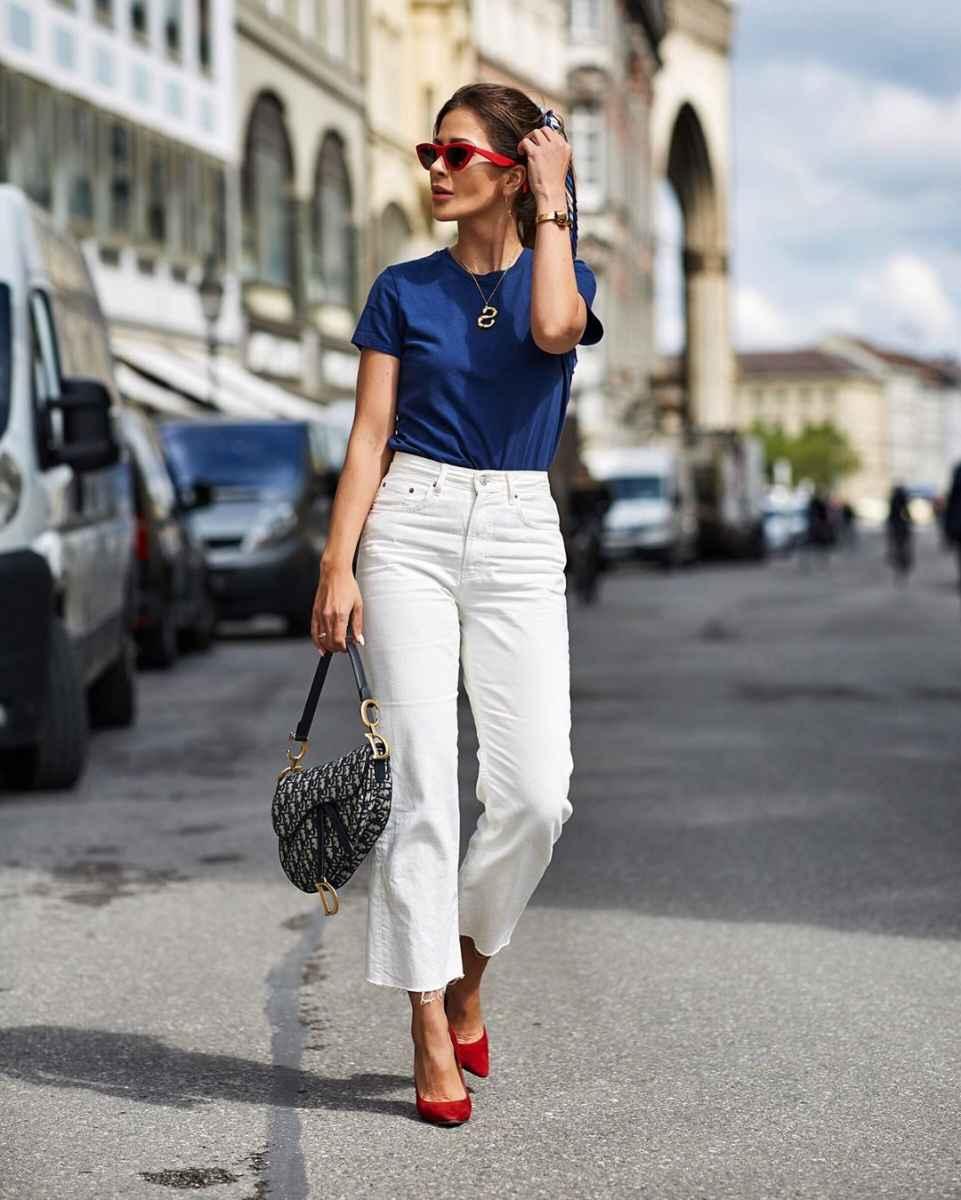 С чем носить джинсы женщинам после 40 фото_20