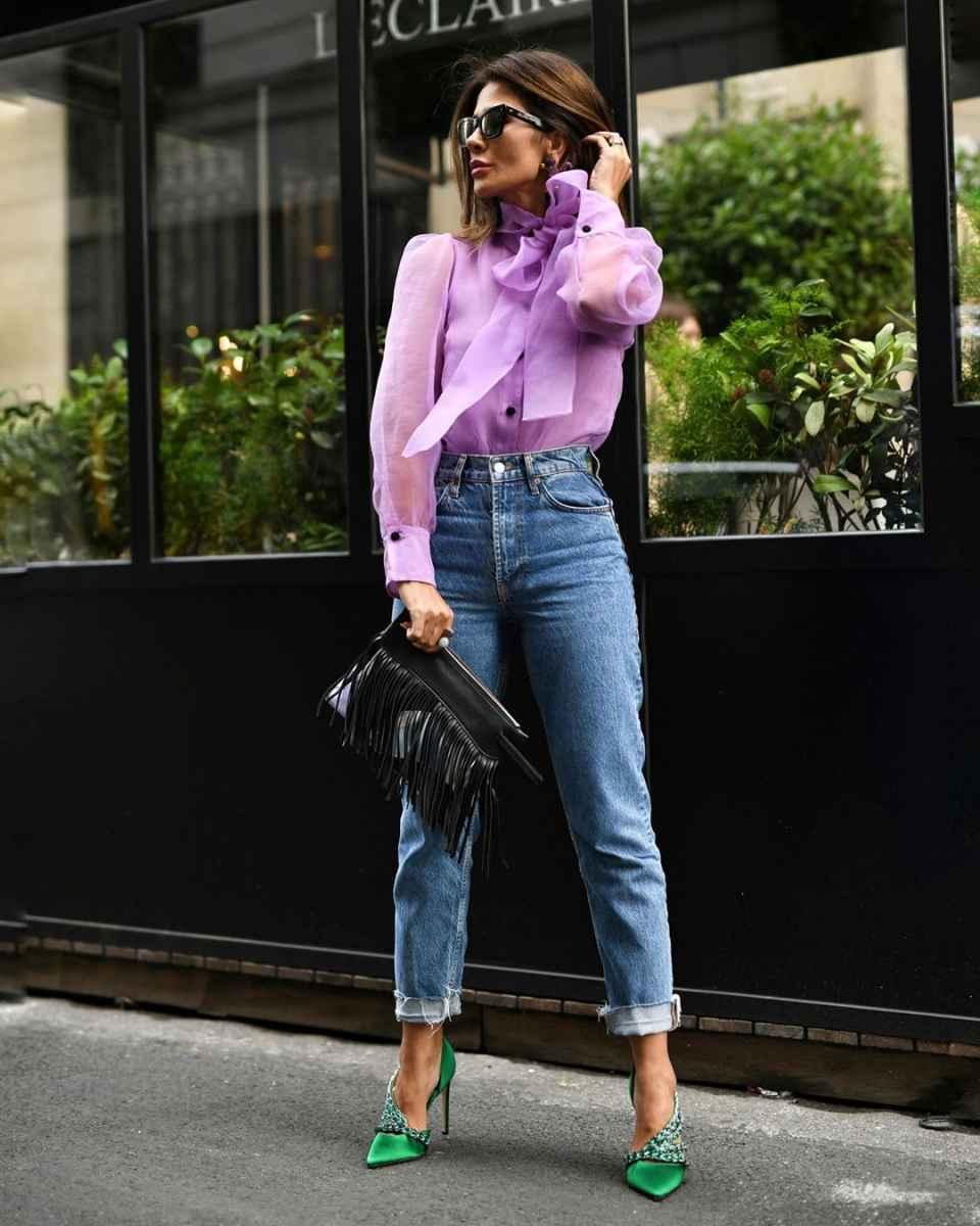С чем носить джинсы женщинам после 40 фото_17