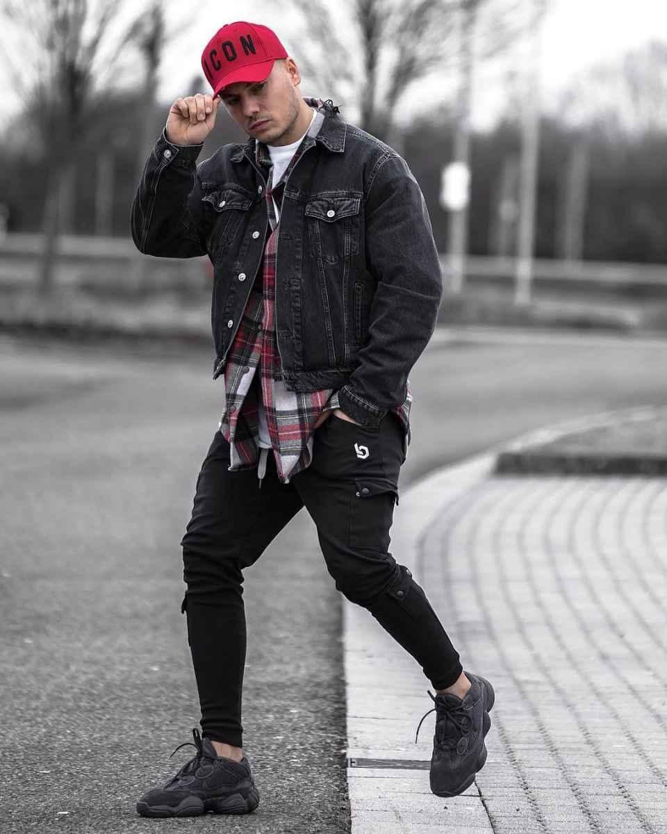 С чем носить джинсовую куртку мужчинам фото_6