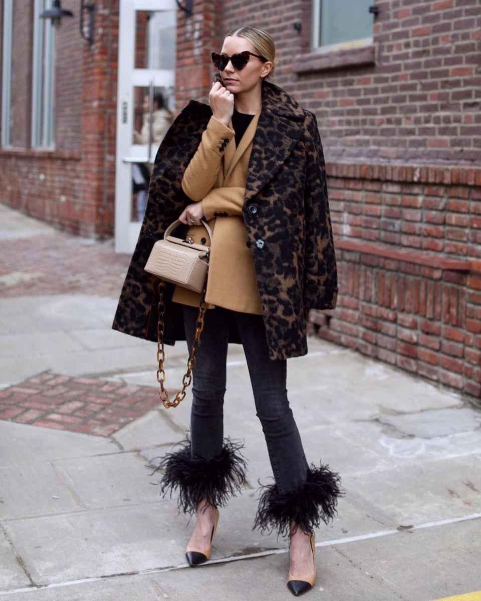 С чем носить пальто-пиджак фото_13